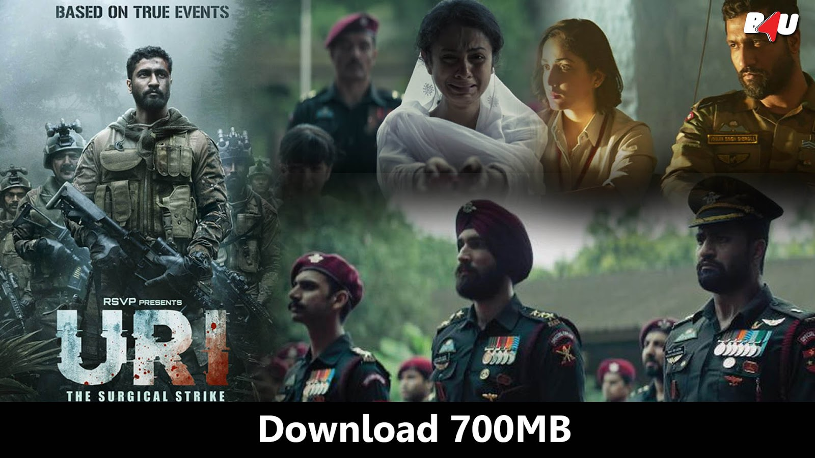 Uri The Surgical Strike 2019 Hindi Hdrip 700mb Download