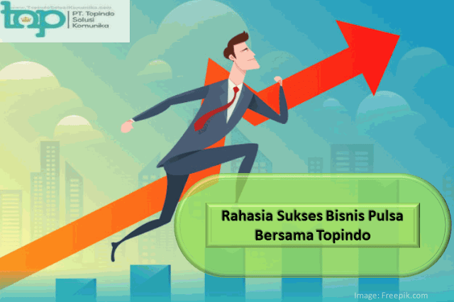 Rahasia Sukses Bisnis Pulsa Bersama Topindo