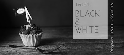 Logo Black and White Event von Ina is(s)t