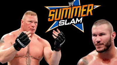 Brock Lesnar vs Randy orton Summerslam 2016