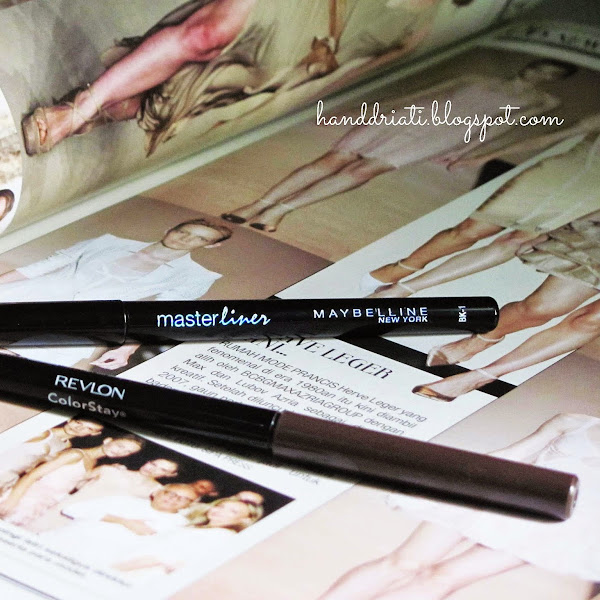 The Perfect Eyeliner : Revlon Colorstay dan Maybelline Pencil Liner 2014