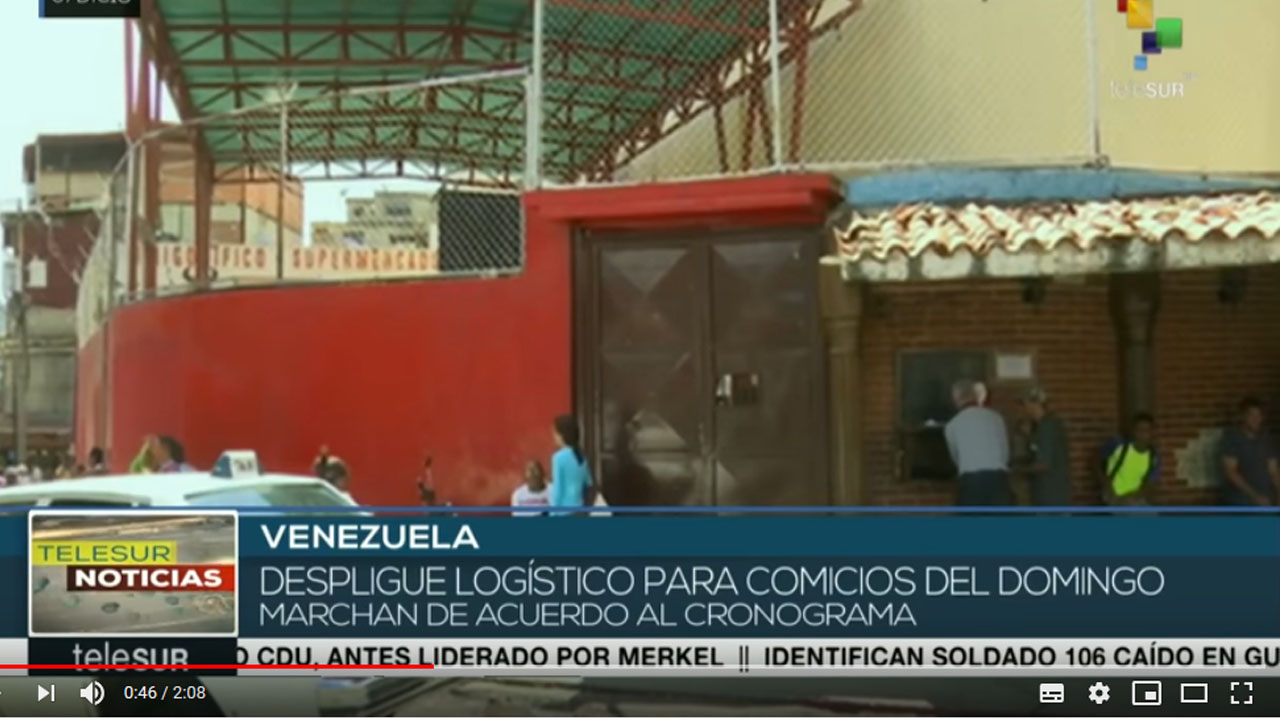 Venezuela: logística para comicios del 9D marcha según el cronograma