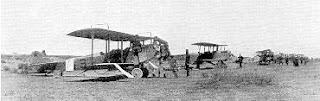 early 1900's militay airplanes