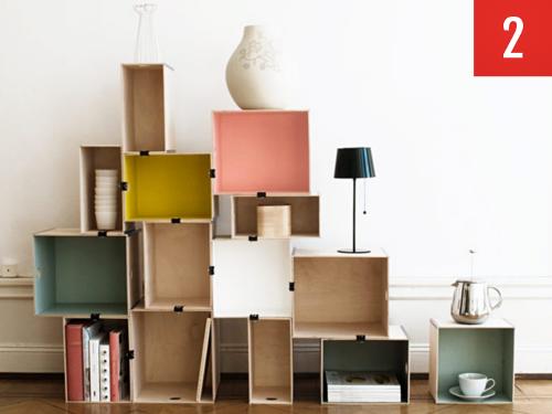 creativity cardboard cognition bookshelf img design