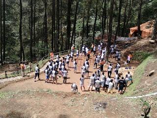 peserta ldks di kampung rimba