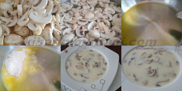 Mantar çorbası nasıl yapılır Sütlü mantar çorbası tarifi
