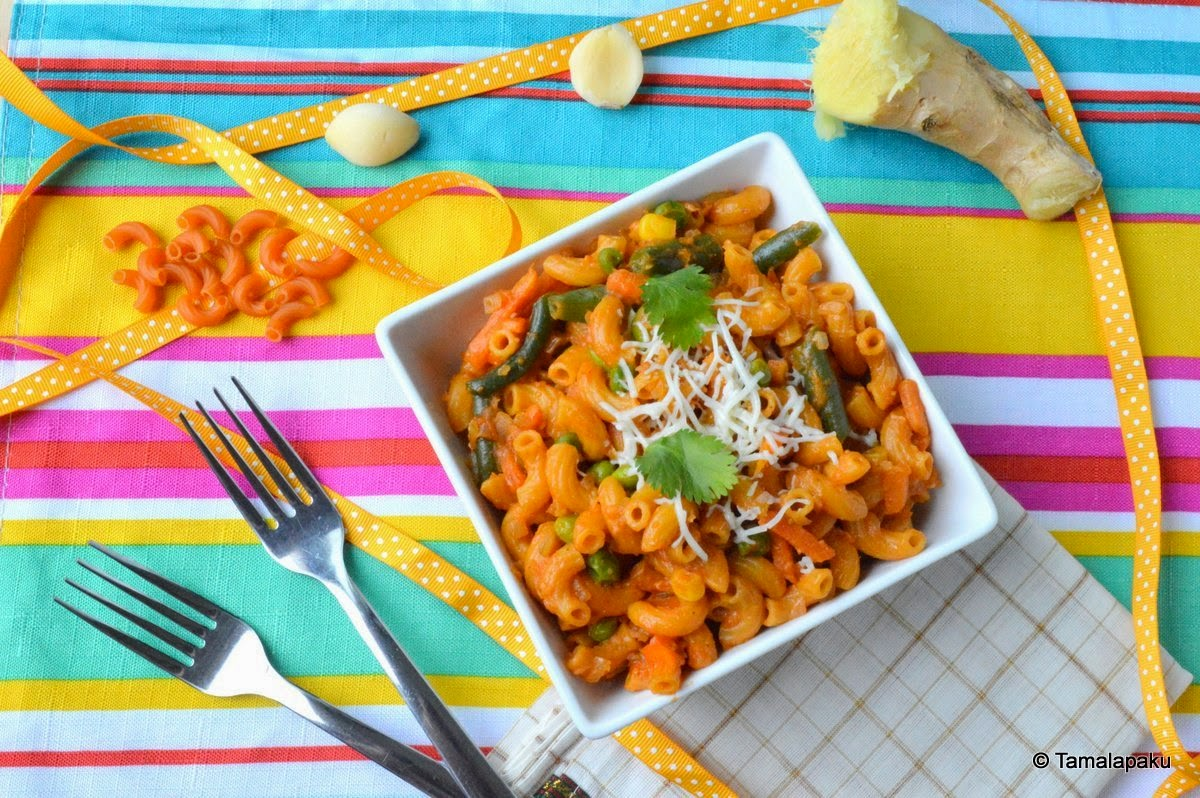 Indian Style Pasta