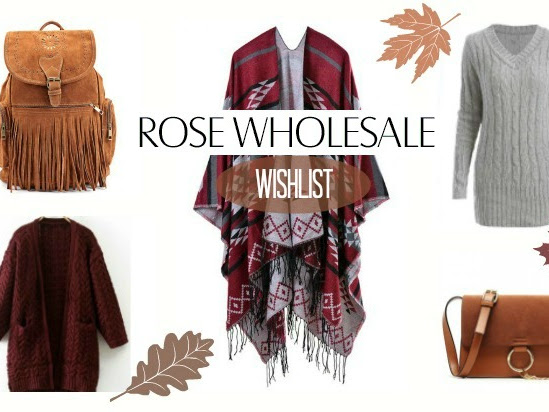 122. Autumn wishlist - Rosewholesale.