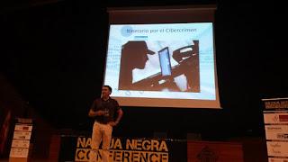 Navaja Negra 2016 - Ulises Quesada - Itinerario por el Cibercrimen