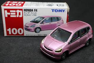 Tomica - 100 , 紙盒裝