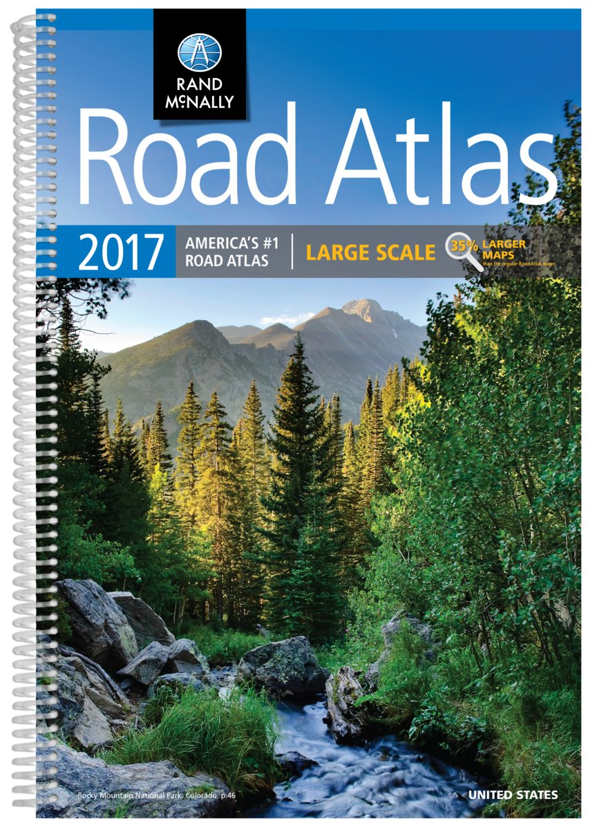 Rand McNally 2017 Large Scale Road Atlas (USA)