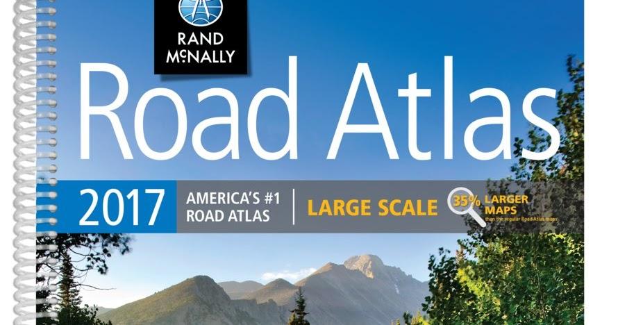Rand McNally 2017 Large Scale Road Atlas - Vivid Maps