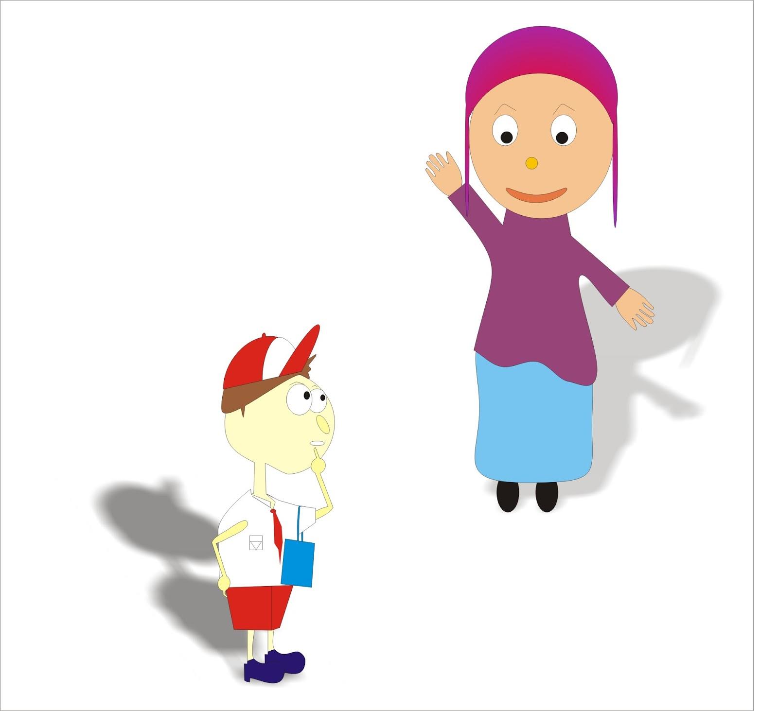 99 Animasi Bergerak Gambar Guru Mengajar Kartun Cikimm Com