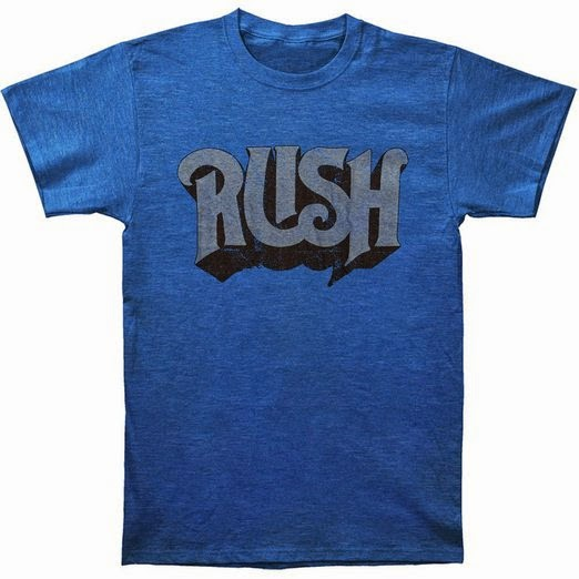 Rush Slim Original T-shirt  by Gordon Rush