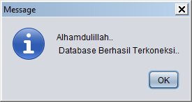 Kelas Informatika - Koneksi Database Berhasil