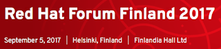 red hat forum finland 2017