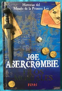 Portada del libro Filos mortales, de Joe Abercrombie