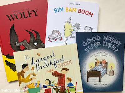 Toddler books for Christmas from Gecko Press
