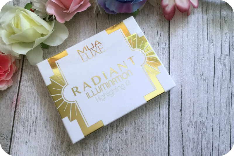 mua luxe radiant illuminating highlighting kit review