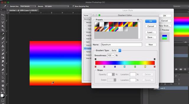 Gradient Pada Photoshop - Web Desain