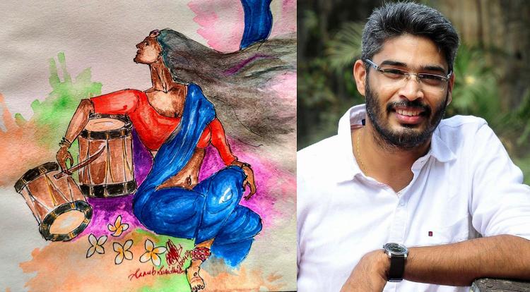 water painting by Sanub Sasidharan
