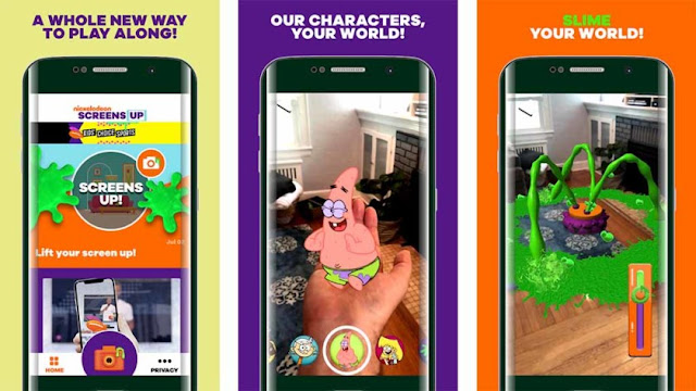 تطبيق Screens Up by Nickelodeon
