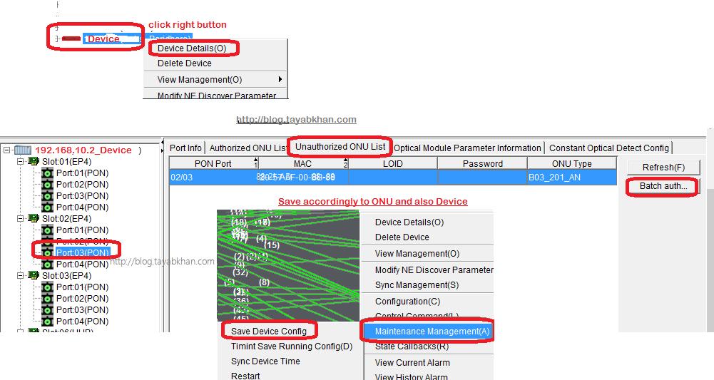 Tayab Khan's ICT Solution Based Personal Blog: PhyHome OLT ONU Laser