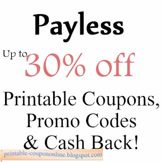 Payless shoes printable coupons february 2018