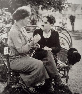 Charles Chaplin detrás de las cámaras