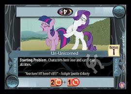 My Little Pony Un-Unicorned Absolute Discord CCG Card