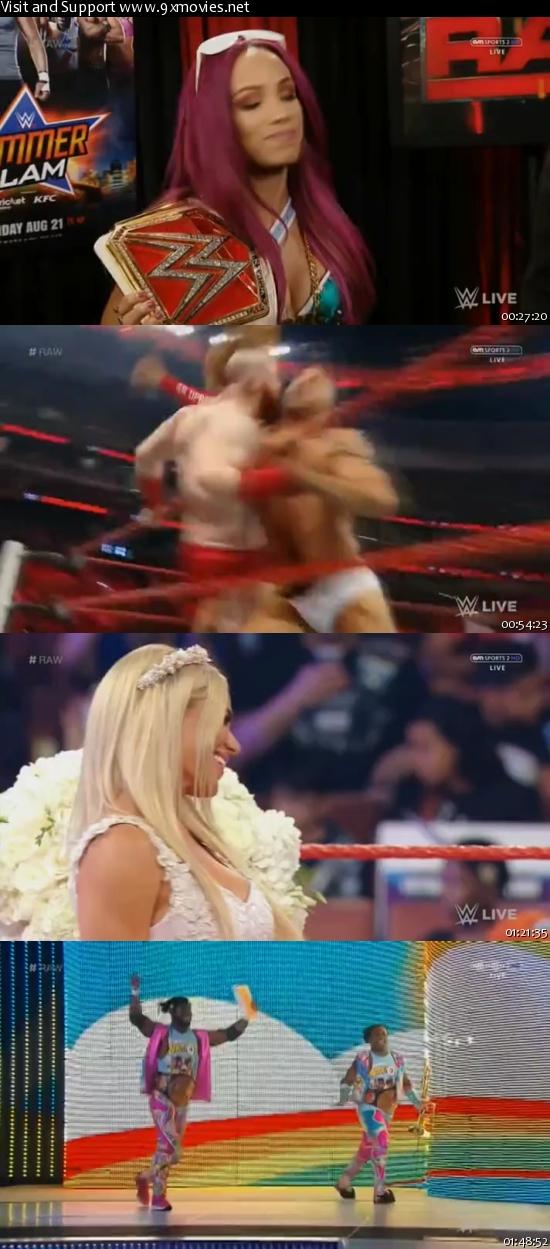 WWE Monday Night Raw 08 August 2016 HDTV 480p