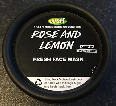 All Things Lush UK: Rose And Lemon Fresh Face Mask