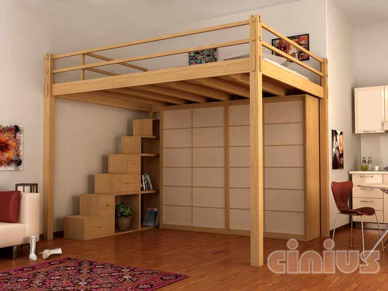Soppalco in legno for Soppalco d arredo