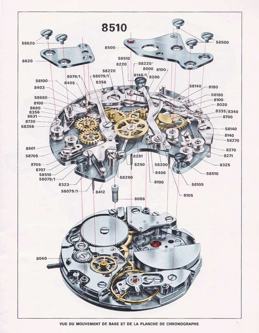 Pocket Watch Movement Diagram Diagramming Sentences Practice History Of The Tag Heuer Monaco | Time And Watches