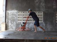 trowel lantai hardener