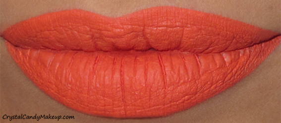 Anastasia Beverly Hills Matte Liquid Lipsticks Review Swatch Neon Coral