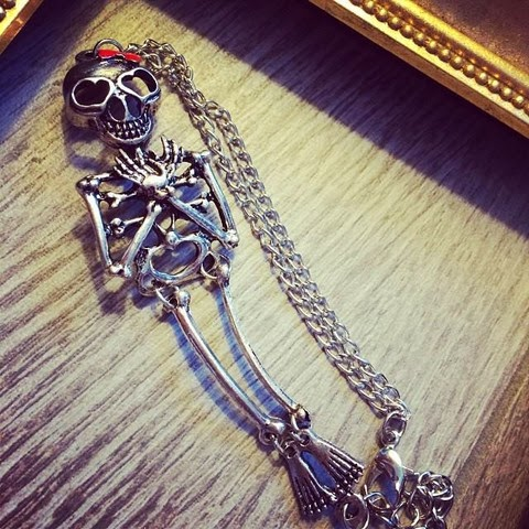 Love Skeleton Bracelet