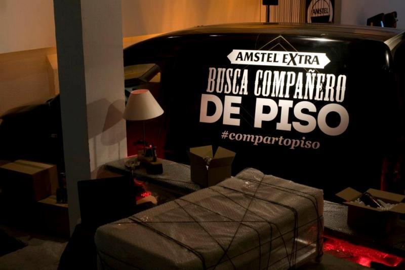 #Compartopiso con Amstel