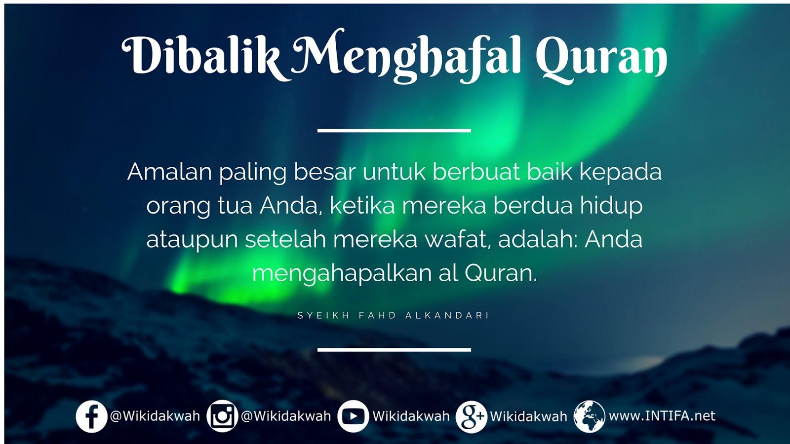 Kata Kata Motivasi Menghafal Quran Cikimm Com