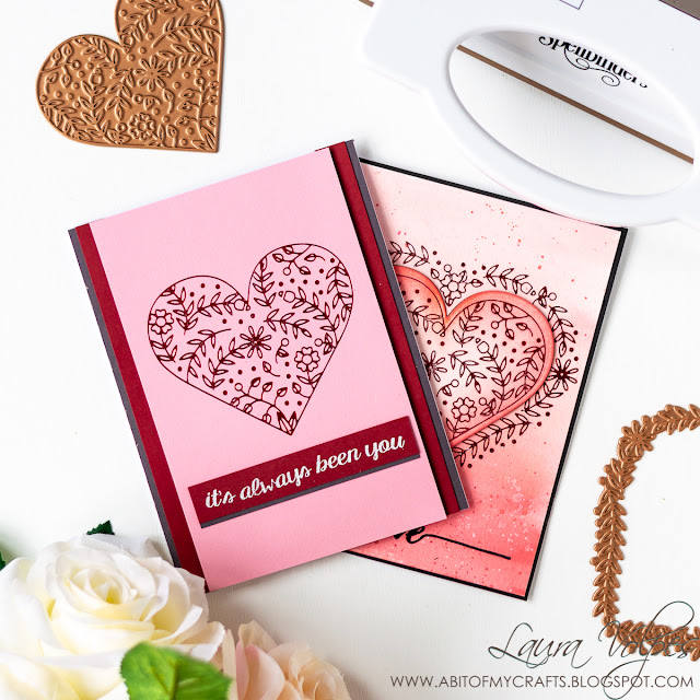 Cards with Glimmer Hot Foil Club Spellbinders