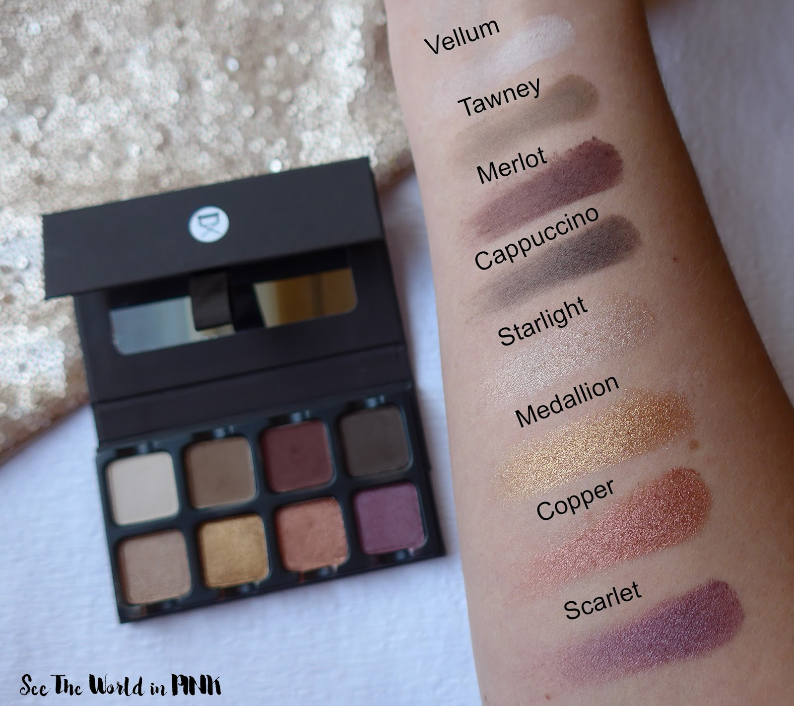 Viseart Petit Pro 1 Eyeshadow Palette - Review, Swatches and Makeup Look!