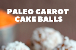 Best Paleo Carrot Cake Balls
