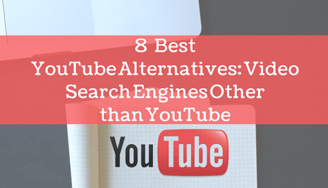YouTube alternatives video search engine