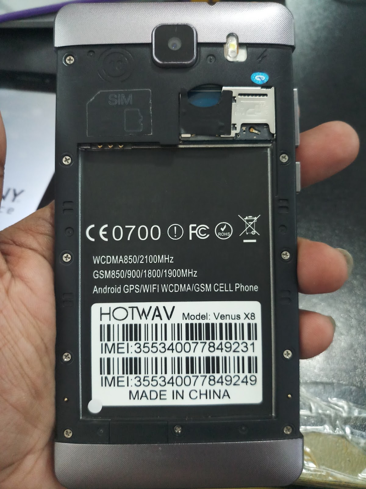 Hotwav Venus X8 Display Fix Dead Recovery Flash File Death