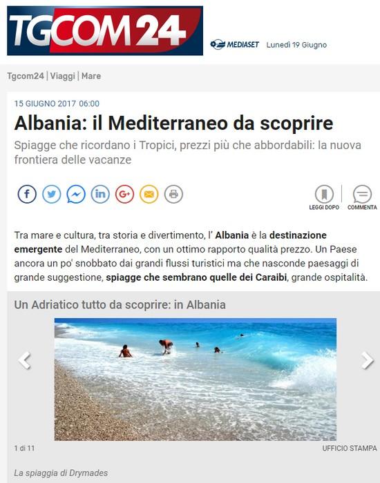 TGCOM24 -  Albania: il Mediterraneo da scoprire