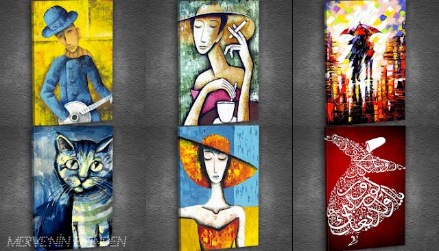 Dekoratif tablo alışverişi