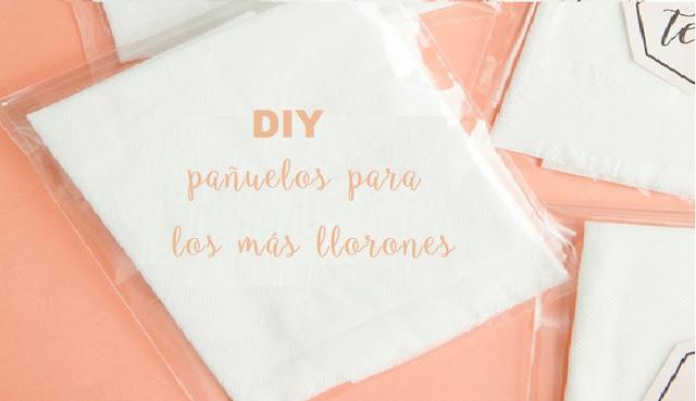 DIY: PAÑUELOS PARA LOS MÁS LLORONES