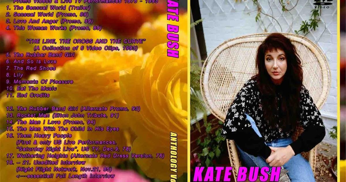 Deer5001RockCocert : KATE BUSH - ANTHOLOGY Volumes 3 Of - 4