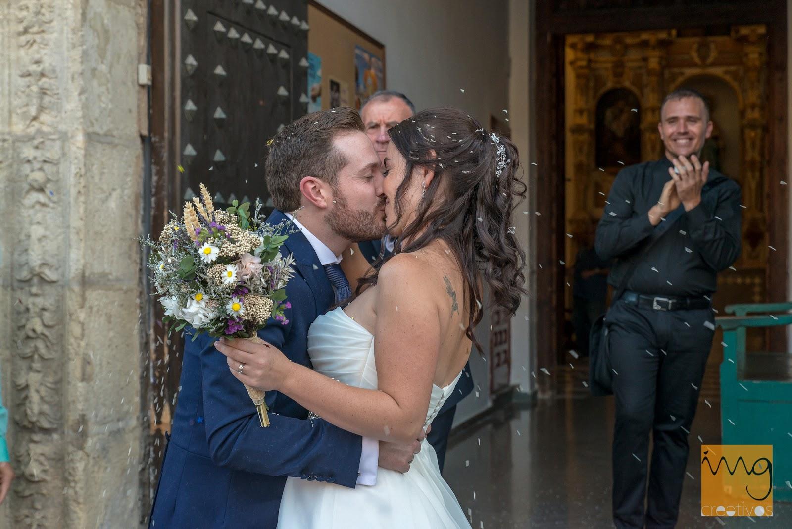 Reportaje de boda en la parroquia del Salvador