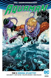 Aquaman tom 3 okładka